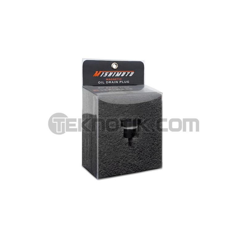 Mishimoto Magnetic Oil Drain Plug M14 X 1 5 Black Teknotik