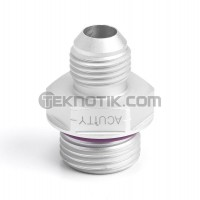Acuity F03 -6AN to -8 O-Ring Boss (ORB) Adapter