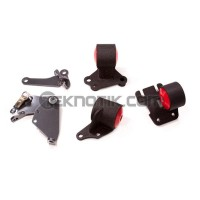 Innovative Steel Conversion Engine Mount Kit B18A1 Cable To Hydro