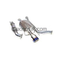 Invidia Q300 Catback Titanium Tip Si Sedan
