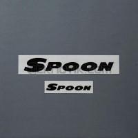 Spoon Team Sticker Black