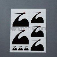 Spoon Mark Sticker Set