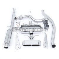 Thermal R&D Catback/Frontpipe Exhaust System Si Coupe