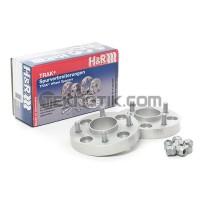 H&R TRAK+ Wheel Spacer DRM Pair 25mm 4x100