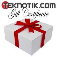 Teknotik.com Gift Certificate