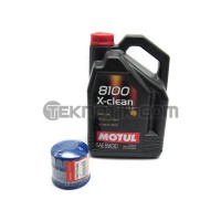 Motul 5W30 X-Clean and S2000 Oil Filter