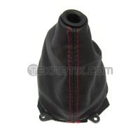 OEM Honda Red Stitched Shift Boot