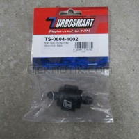 Turbosmart Billet Turbo Oil Feed Filter 44um -4AN Black