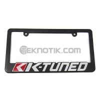 K-Tuned License Plate Frame