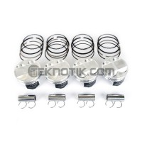 Wiseco Piston and Ring Kit D16Z6/D16Y7