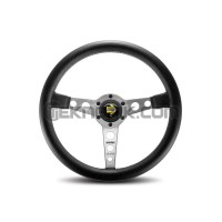 MOMO Prototipo Steering Wheel Silver 350mm