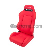 NRG Type-R Style Cloth Sport Seats Pair