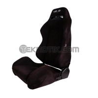 NRG Type-R Style Suede Sport Seats Pair