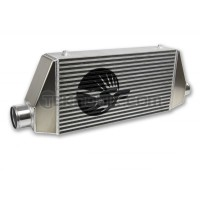 """SpeedFactory HP Side Inlet/Outlet Universal Front Mount Intercooler 3"""" Inlet/Outlet (850HP-1000HP)"""