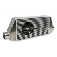 "SpeedFactory Standard Side Inlet/Outlet Universal Front Mount Intercooler - 3"" Inlet / 3"" Outlet (600HP-850HP)"