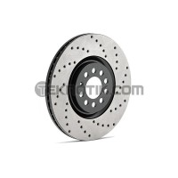 Stoptech Drilled Rear Rotor Set