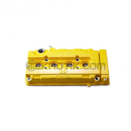 Spoon Yellow Valve Cover B-Series VTEC