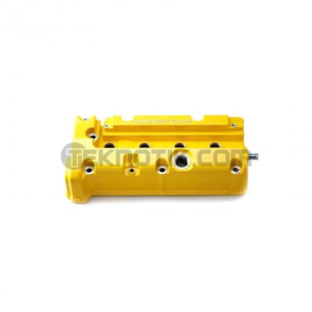 Spoon Yellow Valve Cover K-Series