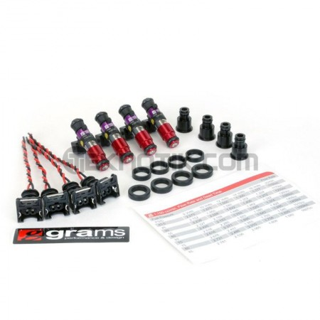 Grams 1150cc Injector Set B,D,F,H (Exc. D17)