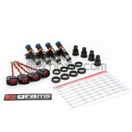 Grams 550cc Injector Set B,D,F,H (Exc. D17)