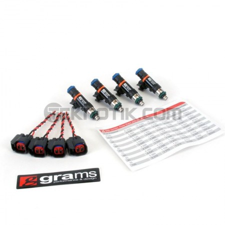 Grams 550cc Injector Set  K Series (Civic, RSX, TSX), D17, 06+ S2000
