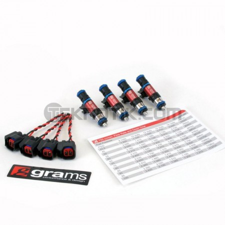 Grams 750cc Injector Set