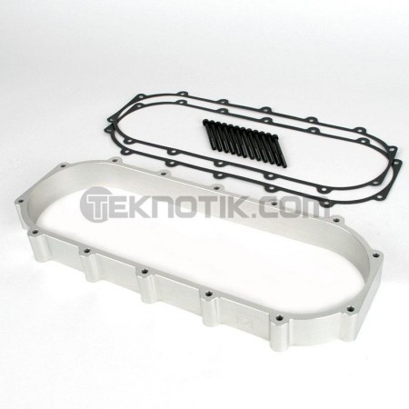 Skunk2 Ultra B & K-Series Race Intake Manifold Spacer (+2-Liter, Silver)