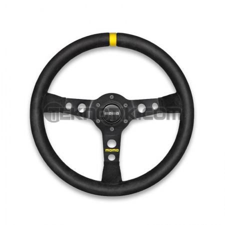 MOMO MOD 07 Steering Wheel Black Suede 350mm